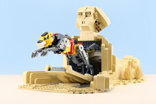 LEGO Voltron Sphinx
