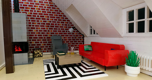 Night in the Attic Apartment