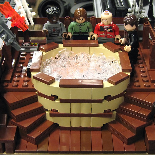 LEGO Hot Tub Time Machine