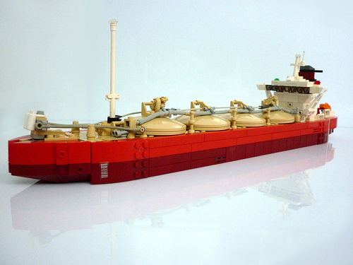 LEGO supertanker