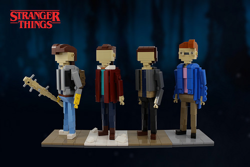 Stranger Things Miniland Plus Teenagers