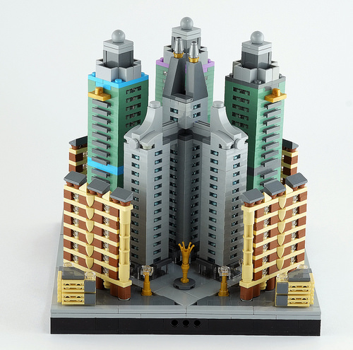 Lego microcity: fourth district