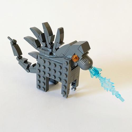 LEGO Dala Horse - Godzilla