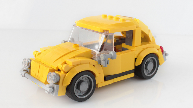 Lego Bumblebee car MOC