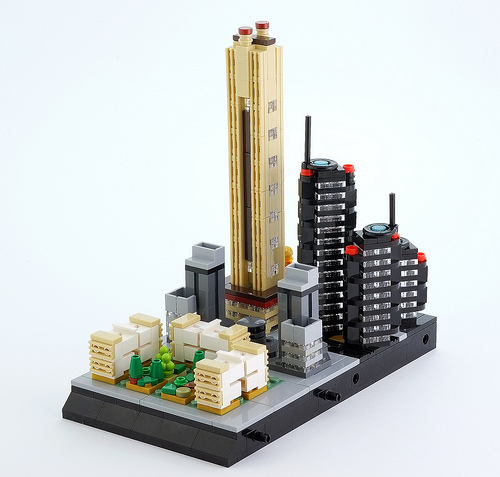 Lego micro city (district n.3)