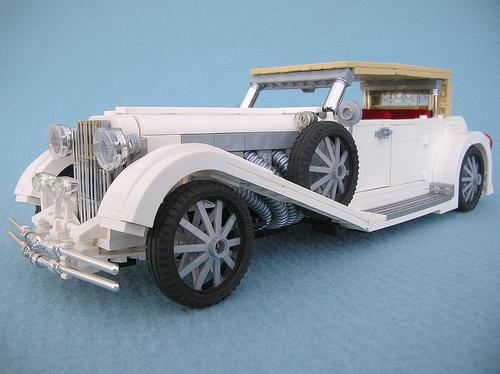 LEGO 1935 Duesenberg Phaeton car