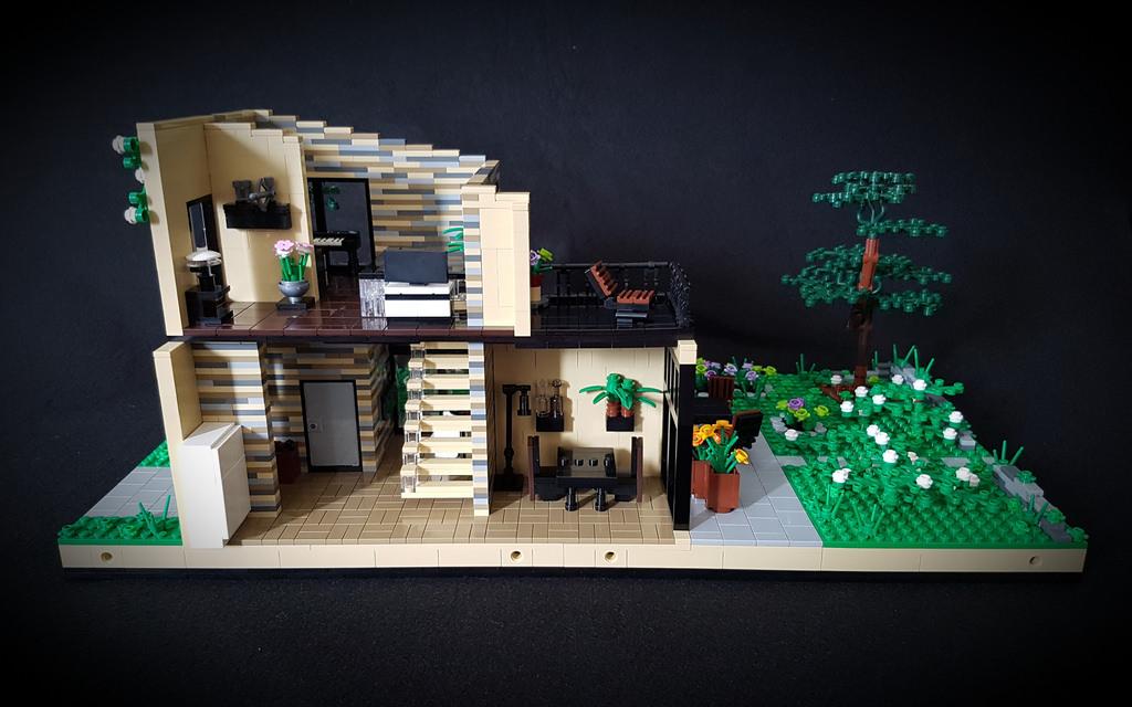 Lilium Eco House MOC eastern half