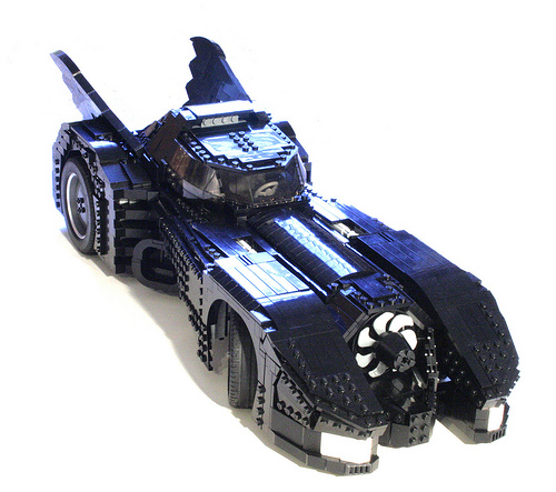 batmobile: BIG in LEGO by psiaki