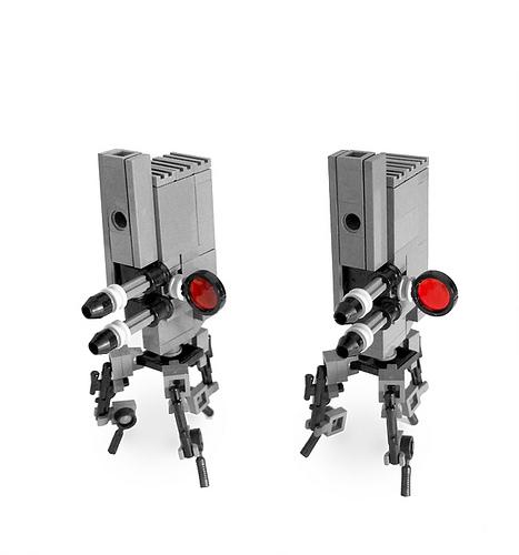 LEGO sentry robot
