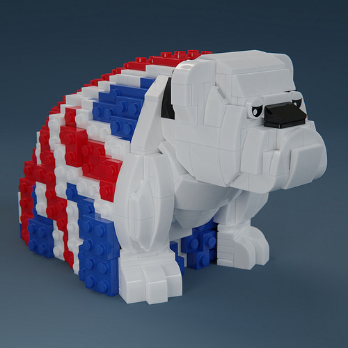 Royal Doulton Bulldog Union Jack