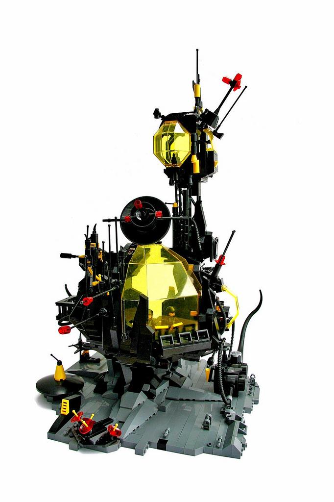 LEGO Blacktron base