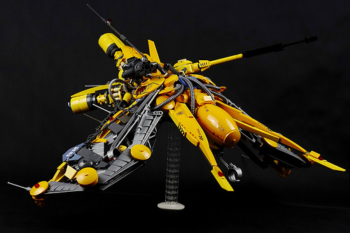 Lucifer class Vic Viper drone - front left