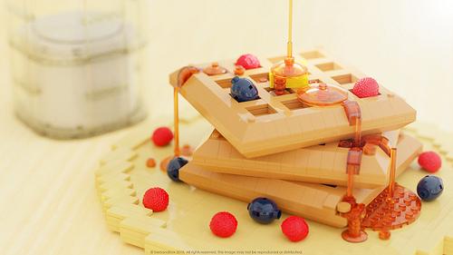LEGO breakfast