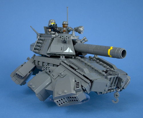 Iron Mountain Legion Prototype Hover Tank