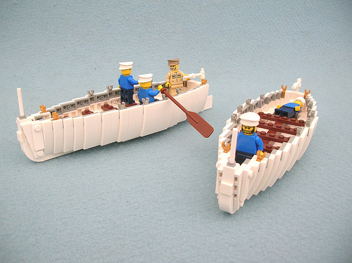 Lego Monster US Navy whalers