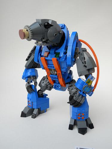 Lego Battle Beasts Mole