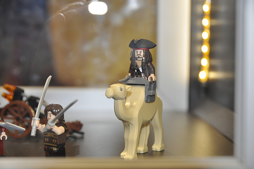LEGO Pirates of the Caribbean Captain Jack prototype