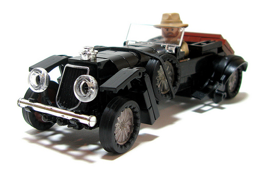 Lego Bentley Car