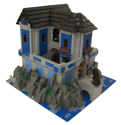 Lego Primary Colors Castle
