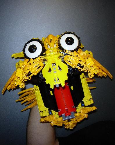 LEGO Gazebo Puppet