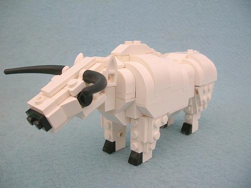 Lego Mesoptamian Ox Butt