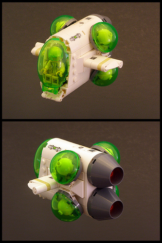 LEGO Space Ship Smuggle Bug