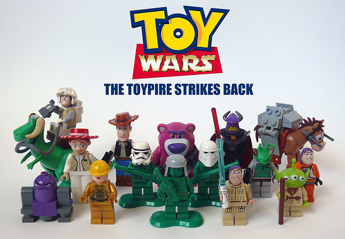 Toy Story Star Wars Toy Wars The Brothers Brick The Brothers