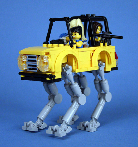 Cheerleader Battle Mecha-Jeep 04