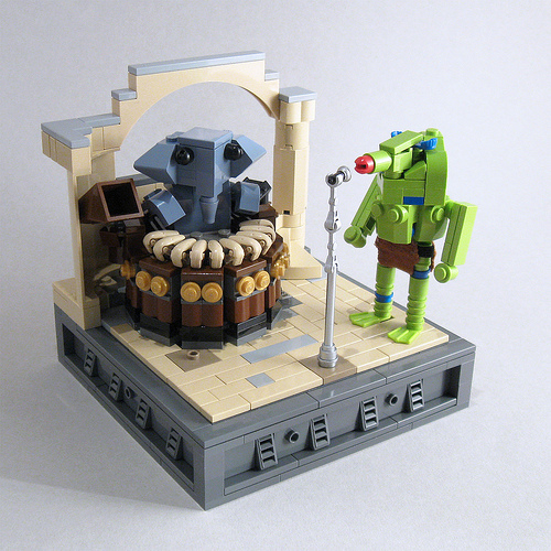 CubeDude vignette - Reebo and Snootles