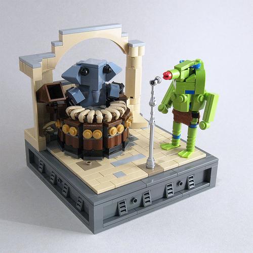 CubeDude vignette - Reebo and Snootles