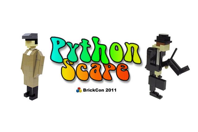"""PythonScape"" at BrickCon 2011"