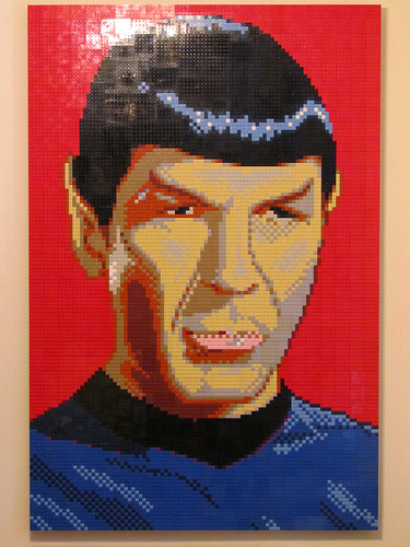 Lego Spock