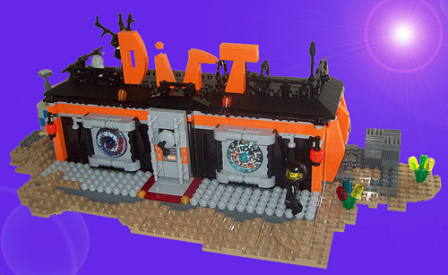 LEGO Dirt bar by Taz-Maniac