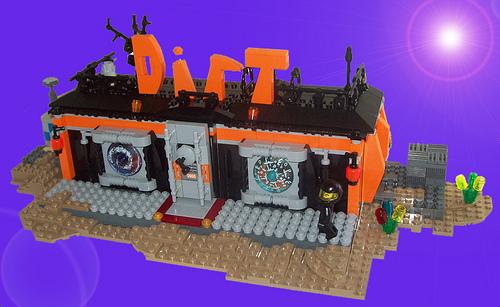 LEGO Dirt bar by Taz-Maniac
