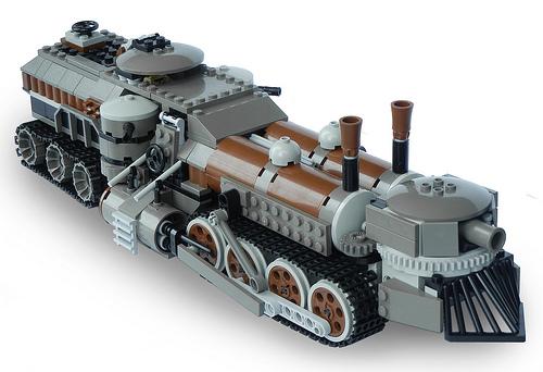 Light Steam Landship Mk. LXIII (side)