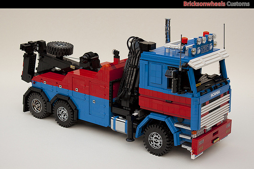Scania 142 Wrecker