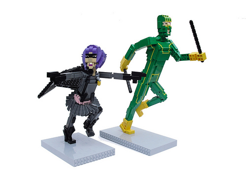 Hit Girl & Kick-Ass