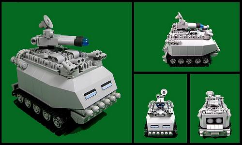 Armoured ECM vehicle