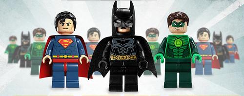 LEGO Superhero minifigs