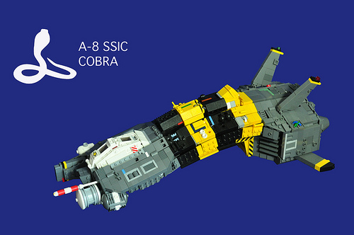 LEGO A-8 Cobra spaceship by vinn