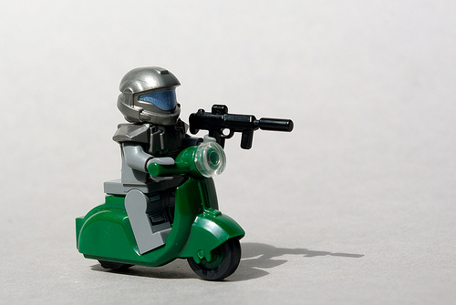 """UNSC """"Shrew"""" Tactical Scooter"""