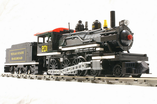 Texas State Railroad Engine #201