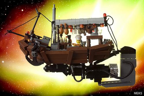 Mr. Kim's Flying restaurant boat