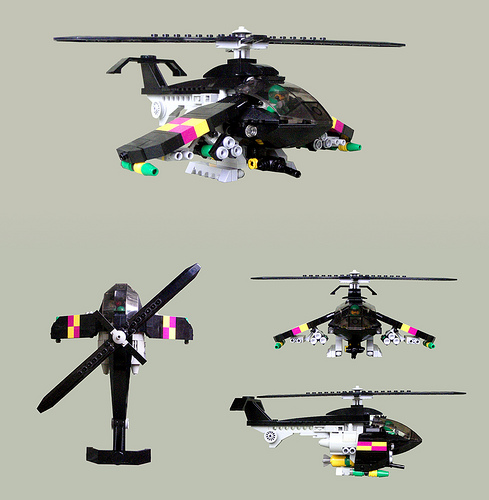 Futurey Attack Helicopter