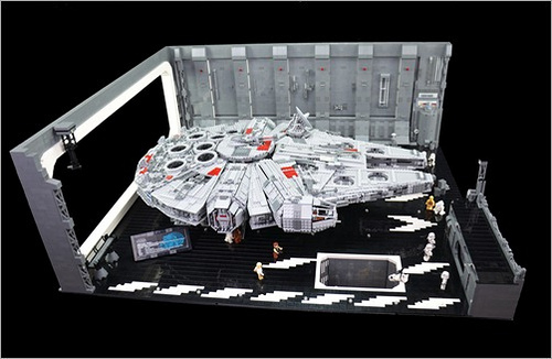 LEGO Star Wars Death Star diorama