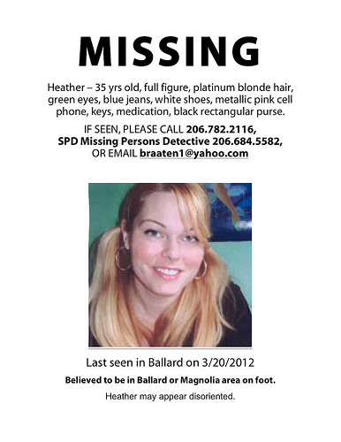 Heather_Missing Flyer