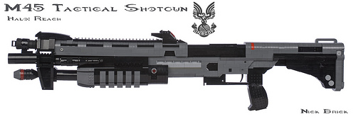 Halo Reach M45 Tactical Shotgun
