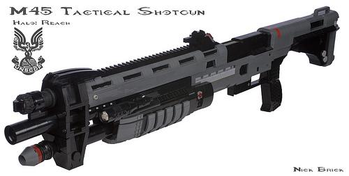 Halo Reach M45 Tactical Shotgun