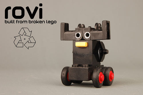 rovi 'the recycled robot'