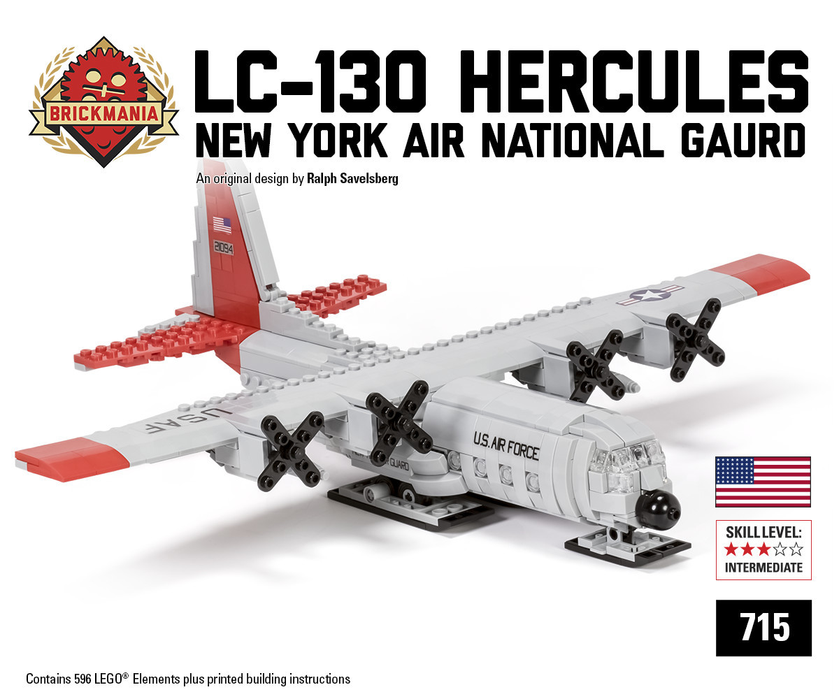 LEGO LC-130 Hercules by Ralph Savelsberg by Brickmania
